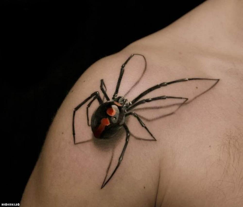 Bilderesultat for black widow tattoo