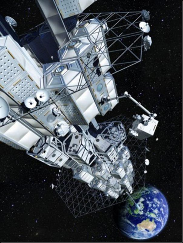 На лифте в космос