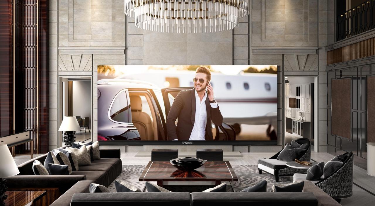 Самый большой и самый дорогой телевизор
