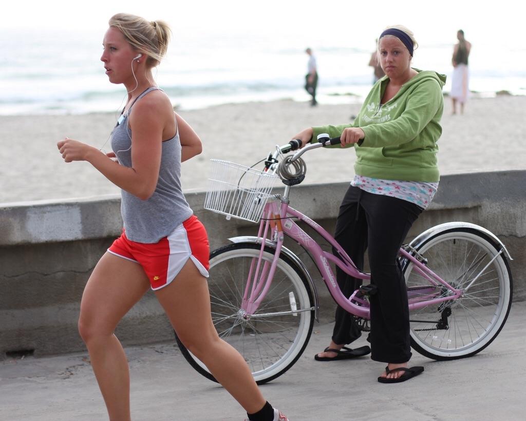 Что лучше, бег или велосипед?
