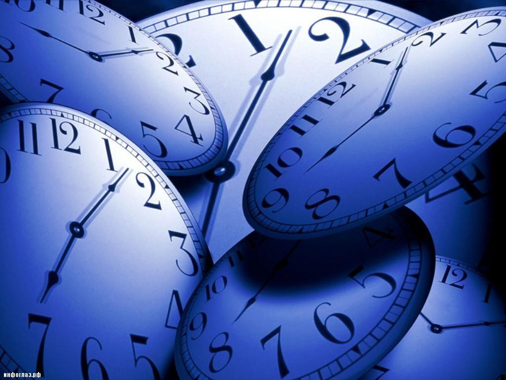 Времени не существует ?