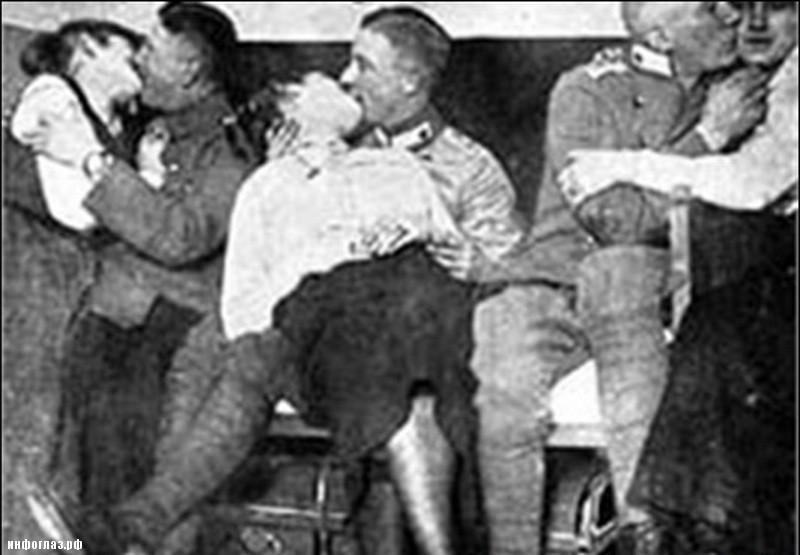 Девушки занимавшиеся сексом со солдатами вермахта