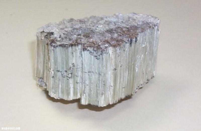 Асбест (Asbestos) иначе хризотил (Chrysotile) и Аамфиболит (Amphibolite)