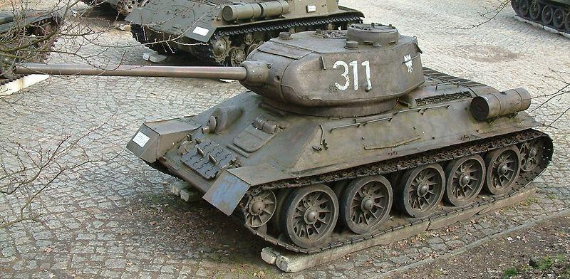 Тигр или Т-34? вермахт, война, союз, т-34, тигр