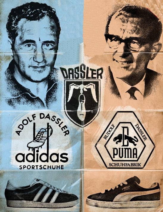 Противостояние брендов  Adidas против Puma  masterok 4821c9162771a