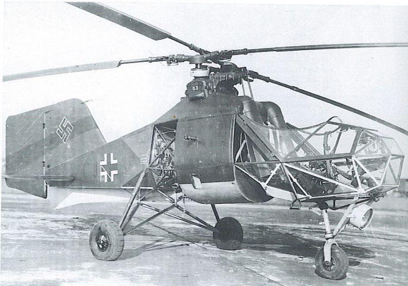 Синхроптер: вертолёт необычной конструкции
