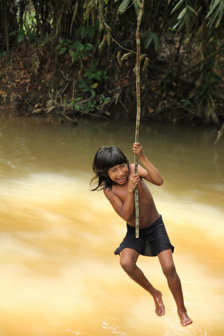Удивительные фотографии исчезающего племени Ава