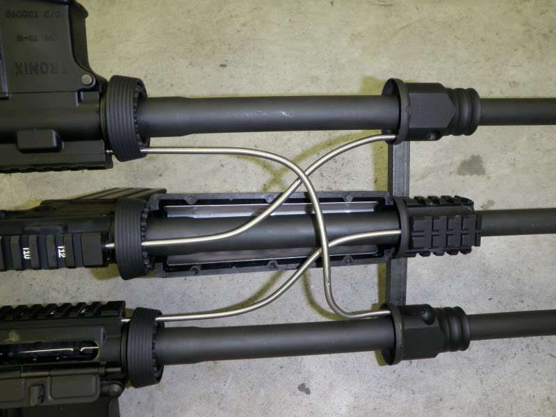 Экспериментальная винтовка Tromix Trimese-16 (США)