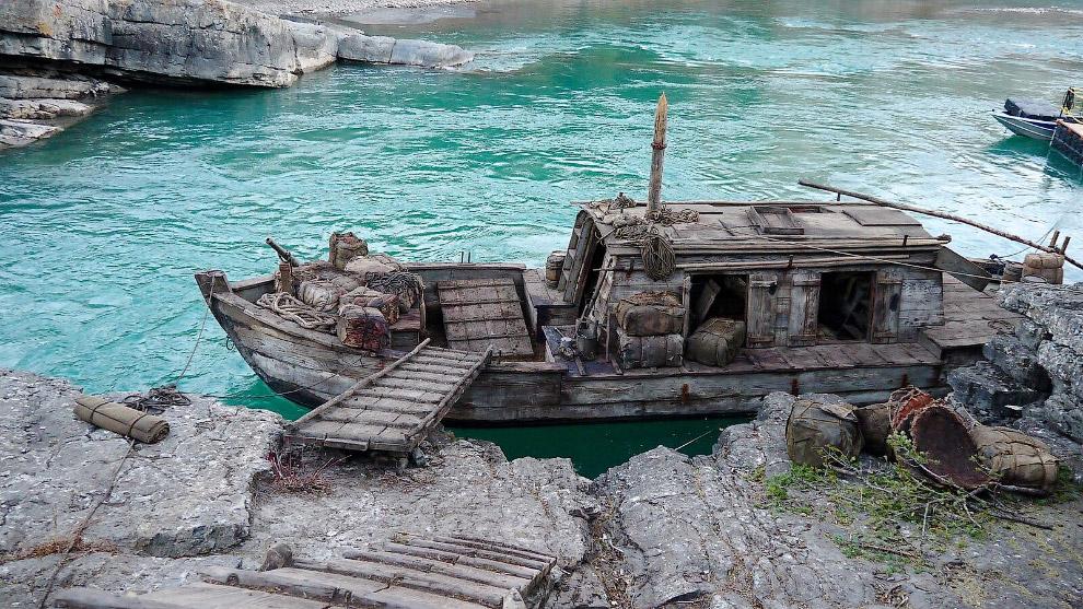 Декорации форма для фильма «Выживший».