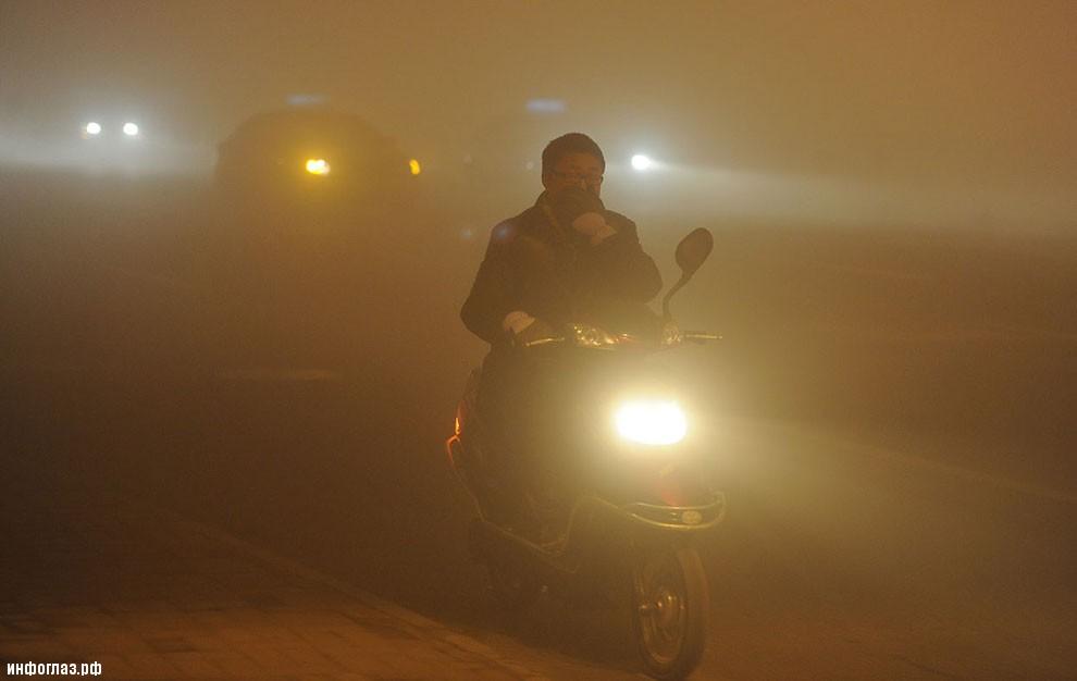 На дороге в провинции Аньхой