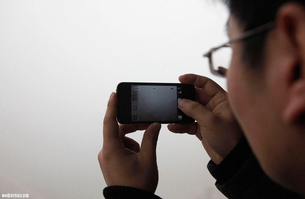 Кроме Пекина ядовитый смог окутал во 19 января восточно-китайскую провинцию Шаньдун