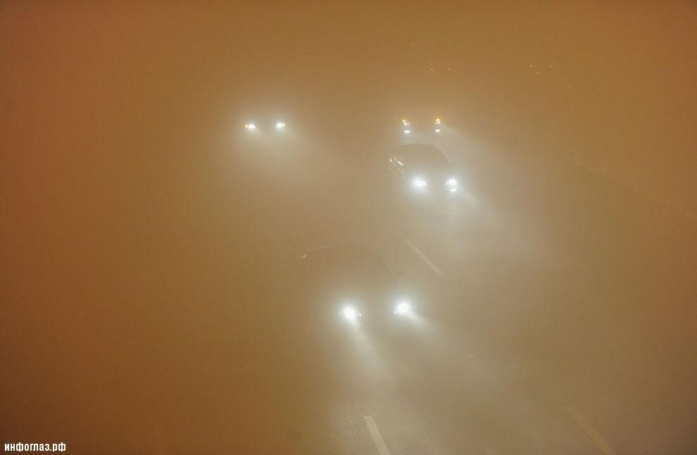 Автомобильное движение «на ощупь». Провинция Аньхой