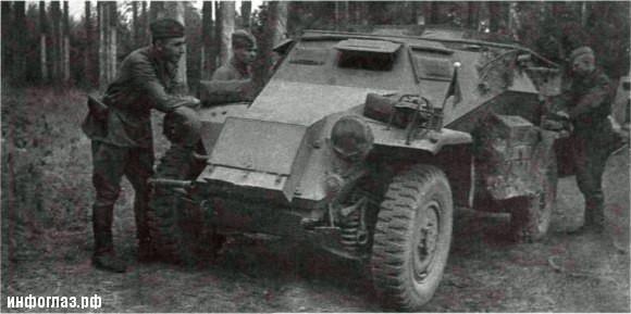 Трофейные танки Красной армии