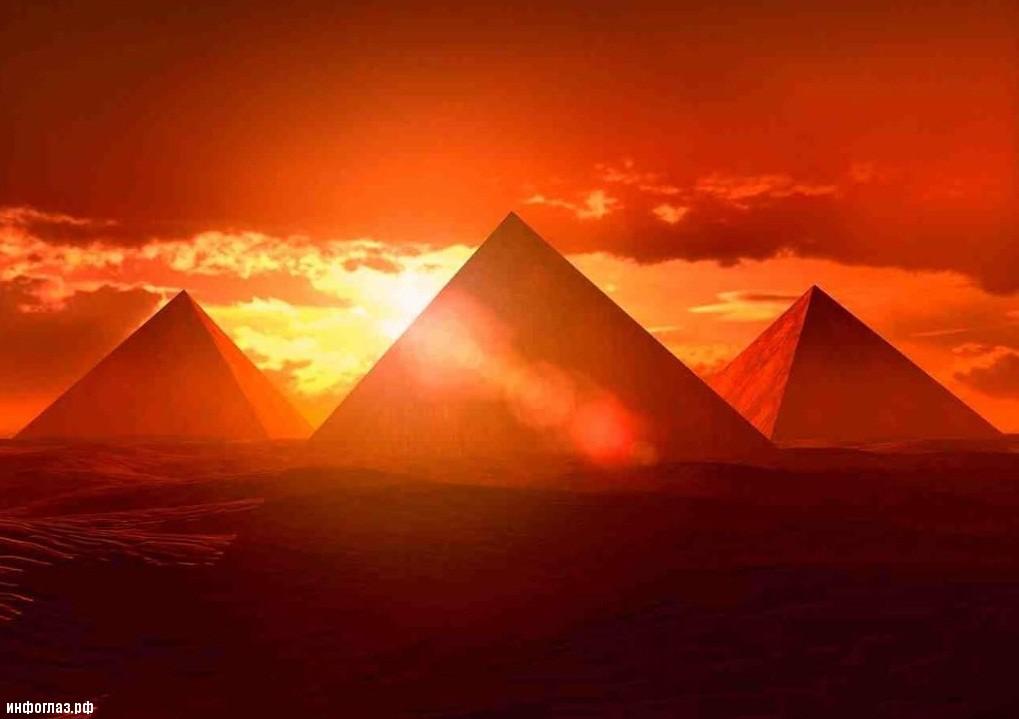 Бетонные пирамиды Египта.