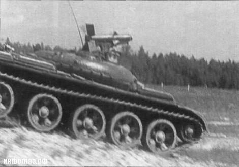 Ракетные танки ссср