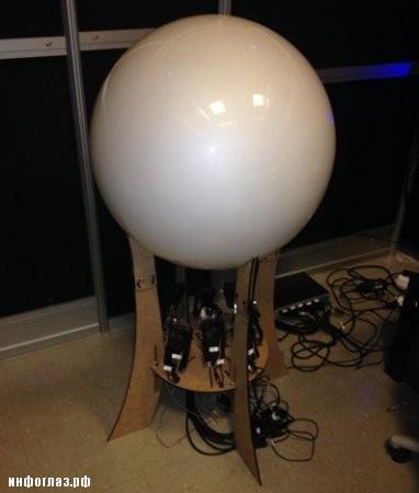 Сферический дисплей Spheree #2