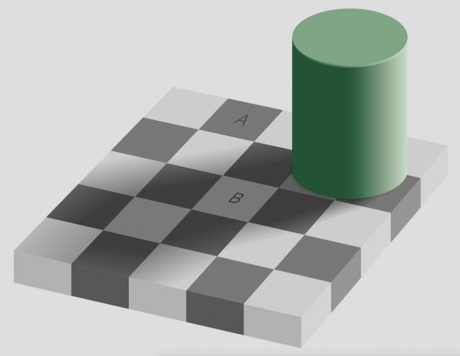 16 цветовых иллюзий, которые легко обманут наш мозг