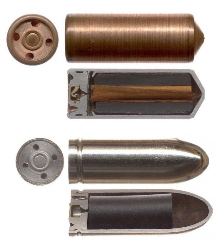 Экспериментальные патроны интересное, оружие, патрон