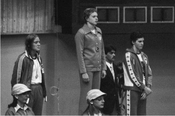 Спортсмены из ГДР долгие годы доминировали в плавании и многих легкоатлетических дисциплинах