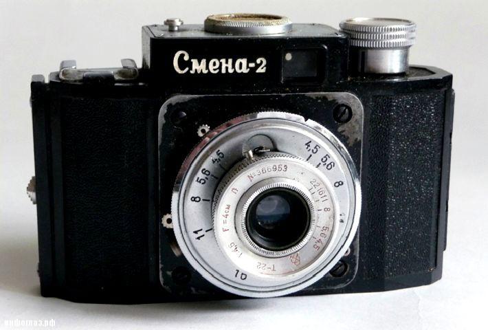 "Фотоаппарат детства  ""Смена-2 "" 1957 г."