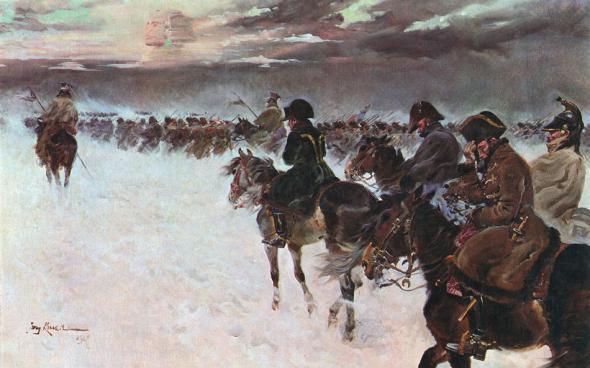 Что Наполеон хотел сделать в России