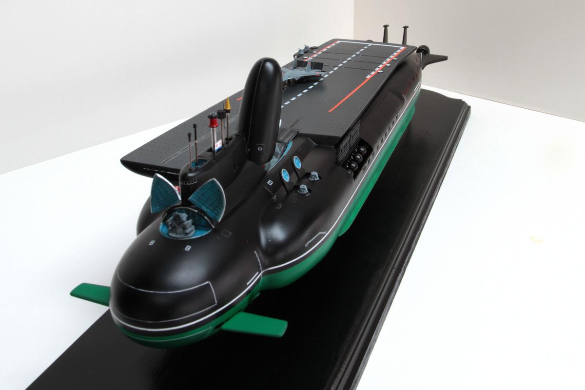 Projeto russo/soviético de porta-aviões subaquático
