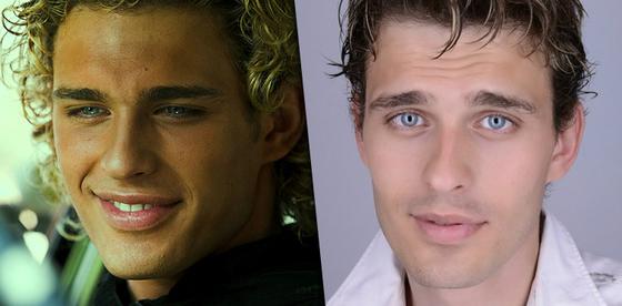 Новый имидж (справа) отличается от образа героя &amp-laquo-Обитаемого острова&amp-raquo- (слева)