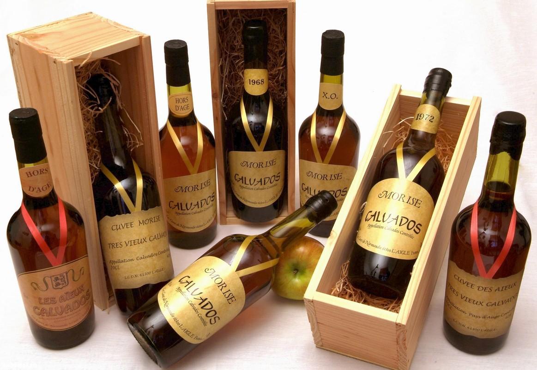 История кальвадос (Calvados)