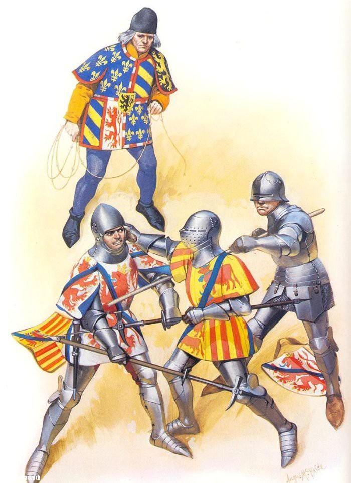 Рассказ о рыцарском турнире