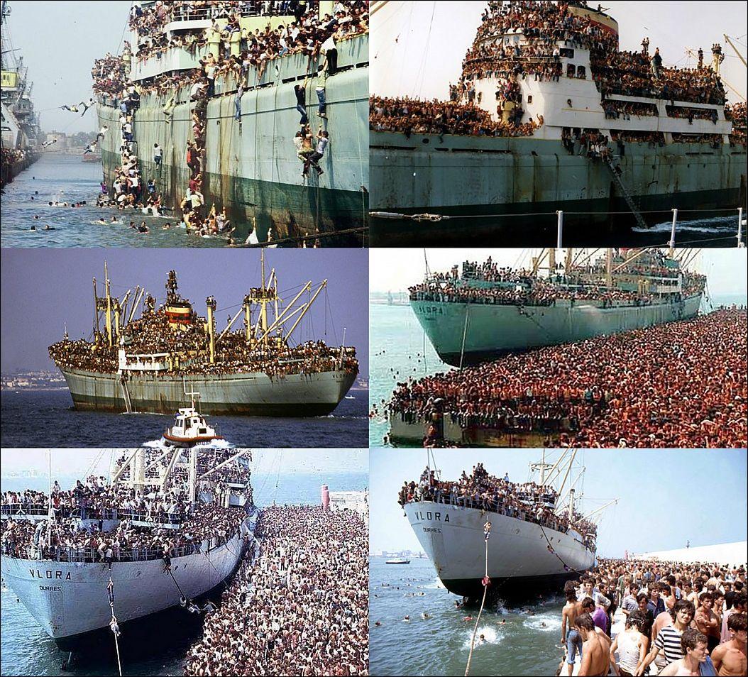 Это не сирийские беженцы — это «сладкий корабль»
