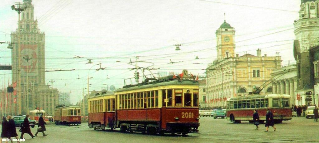 Трамвай типа КМ на