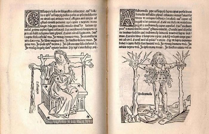 7. Звездный атлас Гигина астрономия, история, невероятное, предки, факты