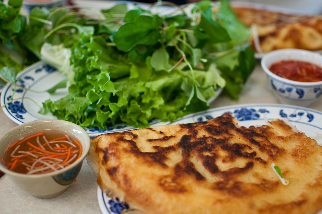 рецепты вьетнамских блинчиков из рисовой муки